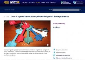 Llave Gira en el catálogo de INNOVAR 2012